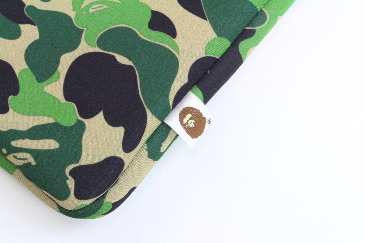 "Bape ABC Green Camo Laptop Case 13"" - SaruGeneral"