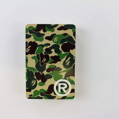 Bape ABC Green Camo Playing Cards - SaruGeneral