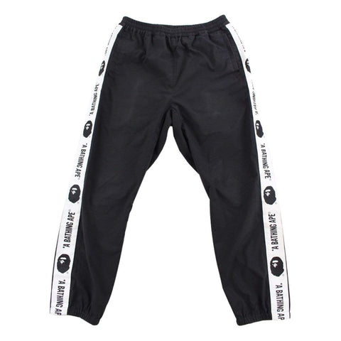 Bape Big Ape Logo Stripe Track pants