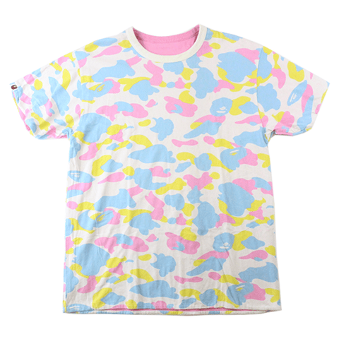 Bape Candy Camo Reversible Tee - SaruGeneral