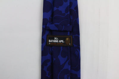Bape Mr Bathing ape Dark Blue Camo Tie - SaruGeneral
