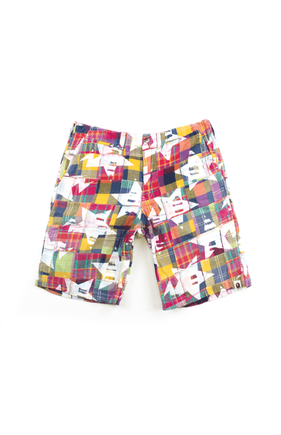 Bape Patch Work Bapesta Shorts - SaruGeneral