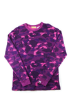 Bape Purple Camo LS