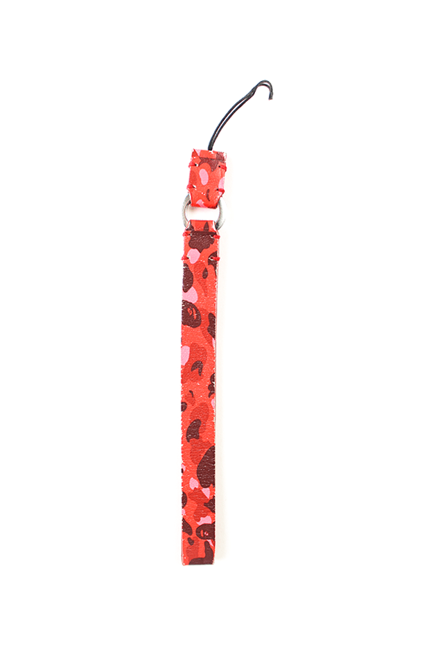 Bape Red Camo Camera Strap - SaruGeneral