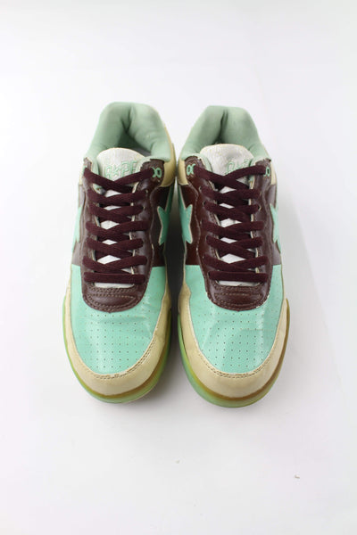 Bape Roadsta Mint Green & Brown - SaruGeneral