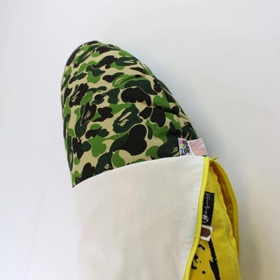 Bape x Andy Warhol ABC Green Camo Banana Pillow - SaruGeneral