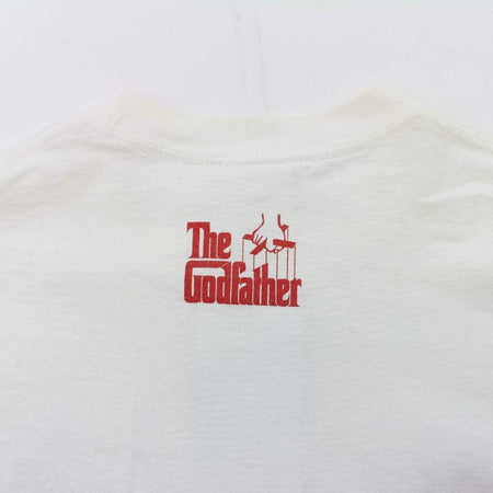 Bape x The Godfather Pink Camo Logo Tee White