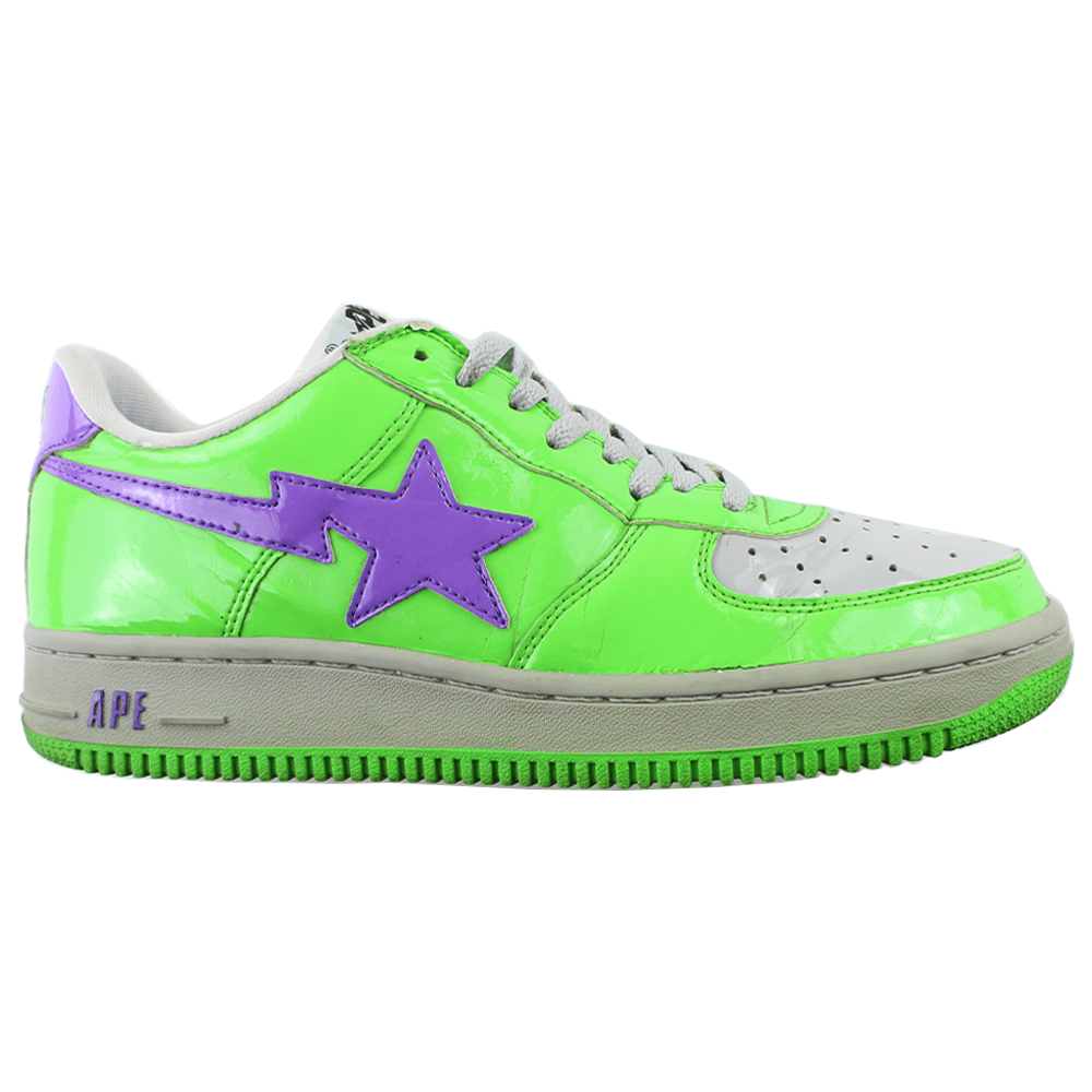 Bapesta Purple Green - SaruGeneral