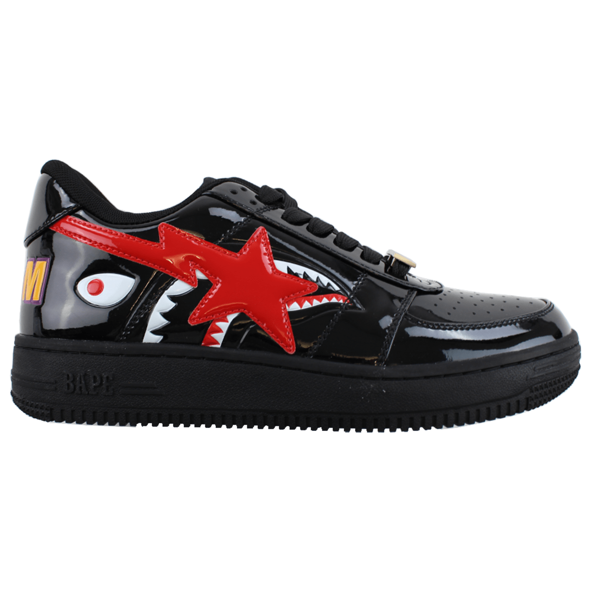 Bapesta Shark Red Black