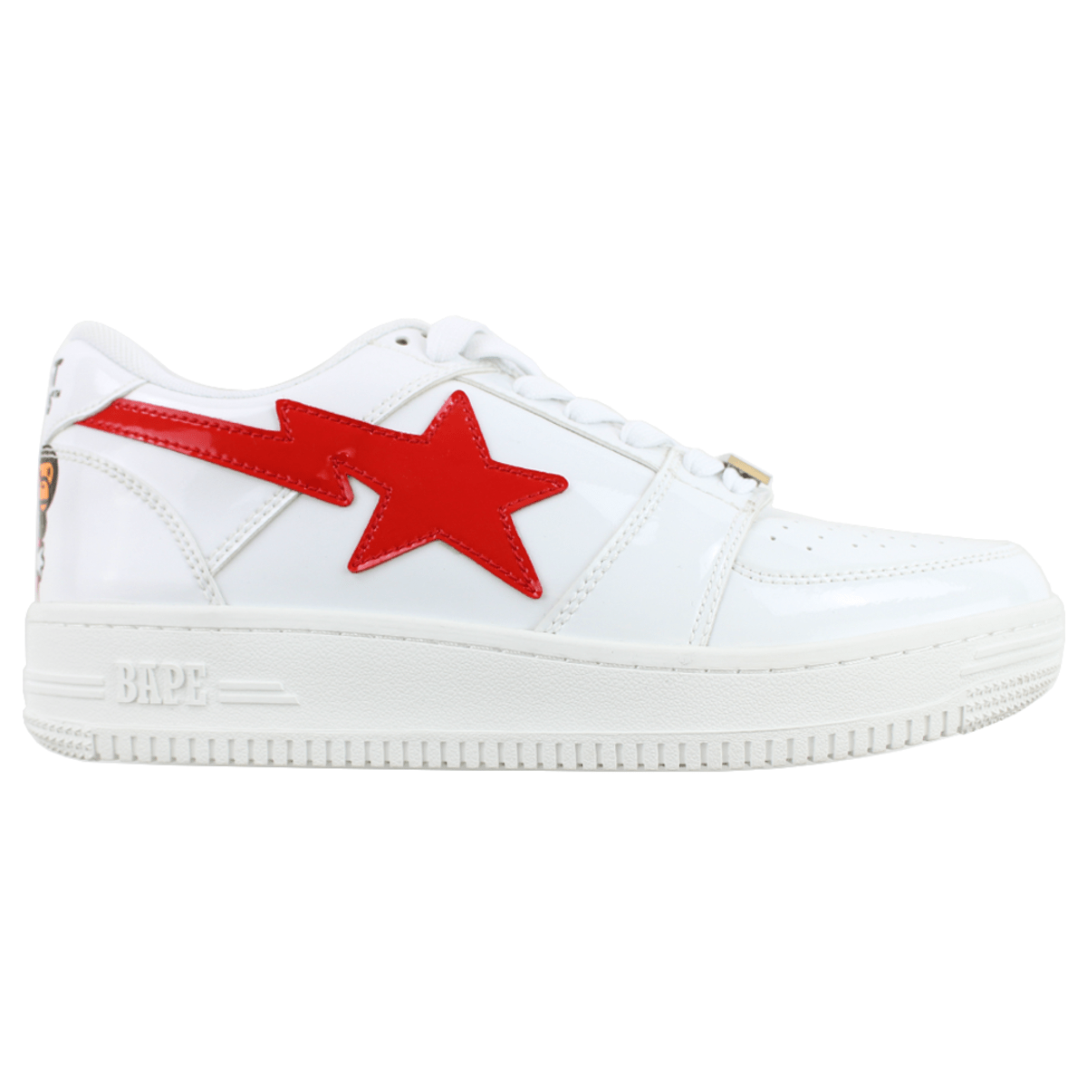 Bapesta x Ghostbusters Milo White Red