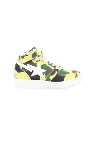 Bapesta 1st Yellow Camo Highs