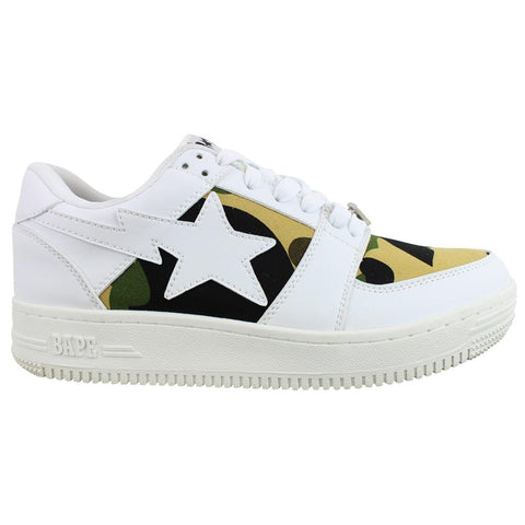 Bapesta 1st Yellow Camo White