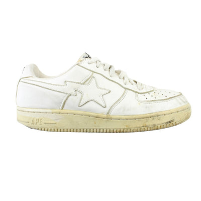 Bapesta All White - SaruGeneral