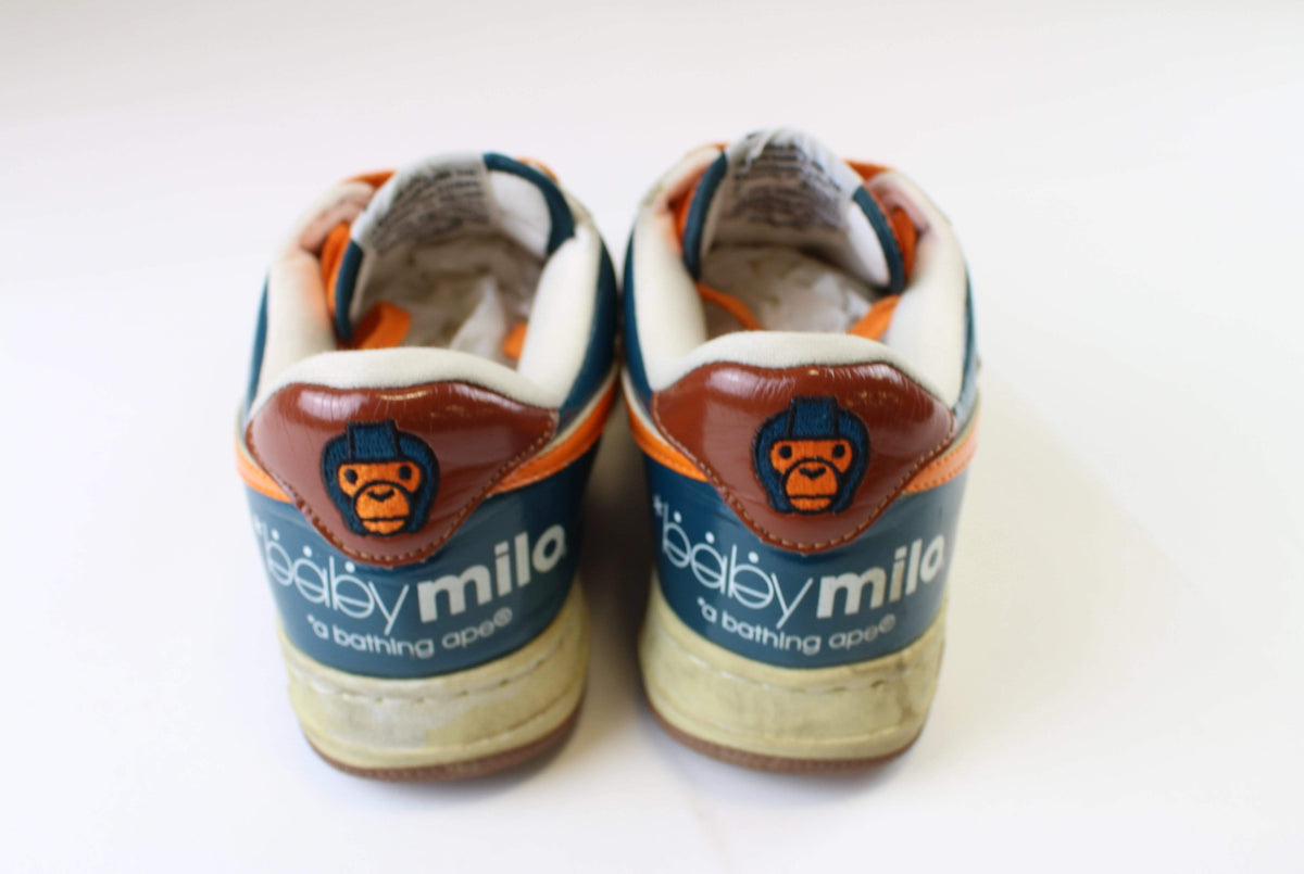 Bapesta Baby Milo Blue & Orange - SaruGeneral