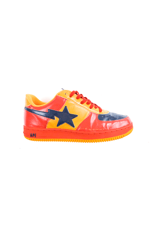 Bapesta Red & Orange