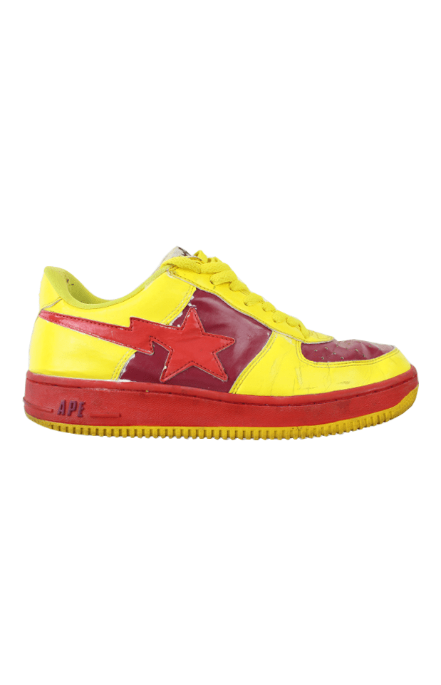 Bapesta Red Yellow - SaruGeneral