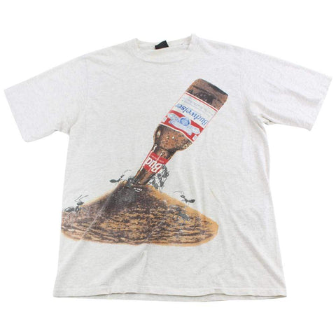 Budweiser Ants Graphic Tee Grey