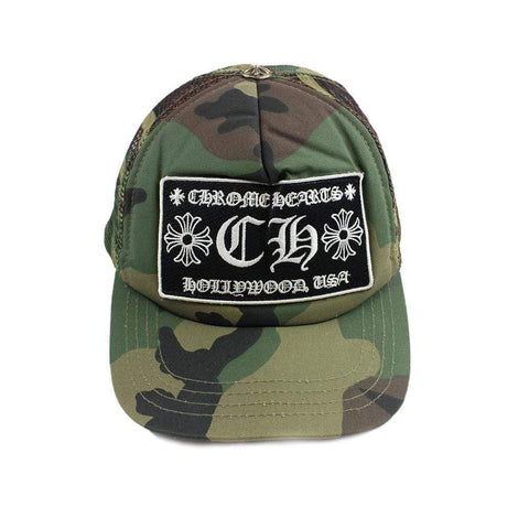 Chrome Hearts Woodland Trucker Hat - SaruGeneral