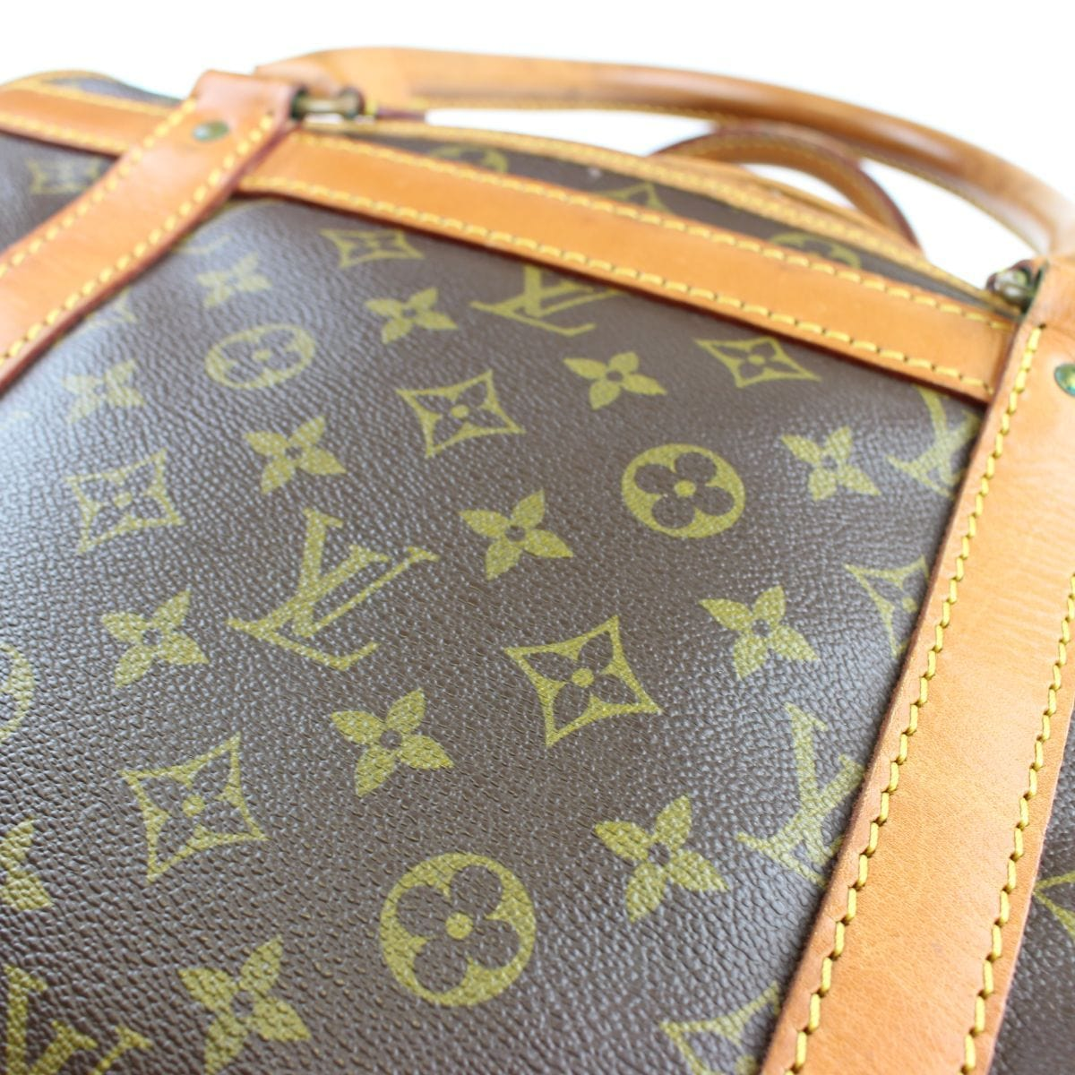 louis vuitton demi supur monogram boston bag - SaruGeneral