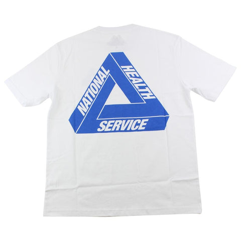 Palace NHS Tri-ferg Tee White - SaruGeneral