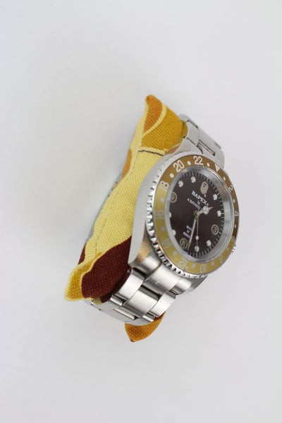 Bapex Silver Gold Brown - SaruGeneral