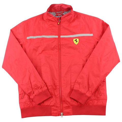 Ferrari checker Jacket Red - SaruGeneral