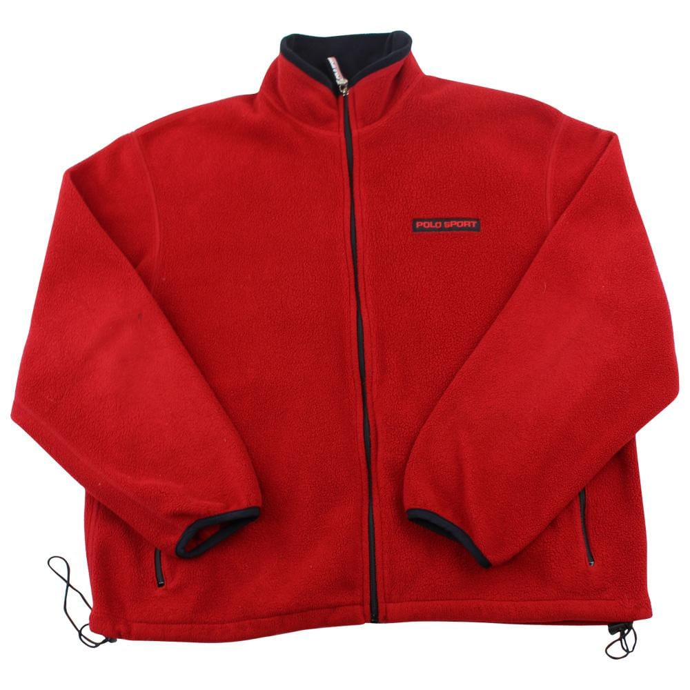 Ralph Lauren Polo Sport Logo Fleece Red