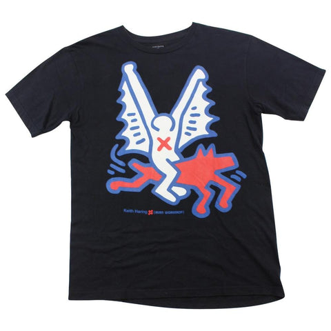 Keith Haring x Alien Workshop Logo Tee Black - SaruGeneral