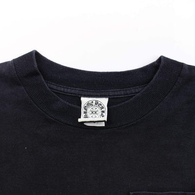 chrome hearts red text ls black - SaruGeneral
