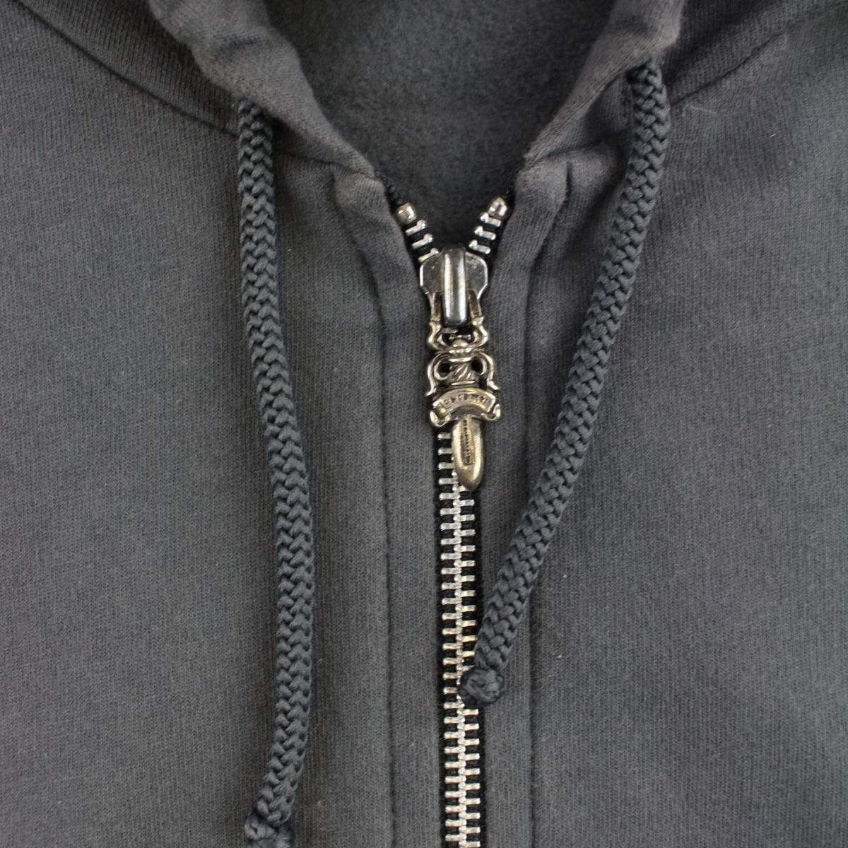 chrome hearts classic crosses hoodie grey - SaruGeneral