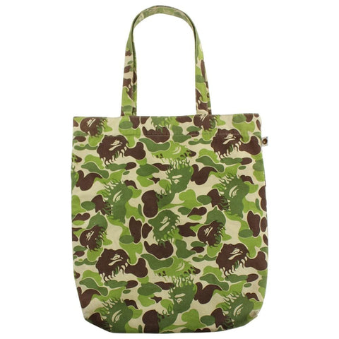 Bape ABC Green Flame Camo Tote Bag - SaruGeneral