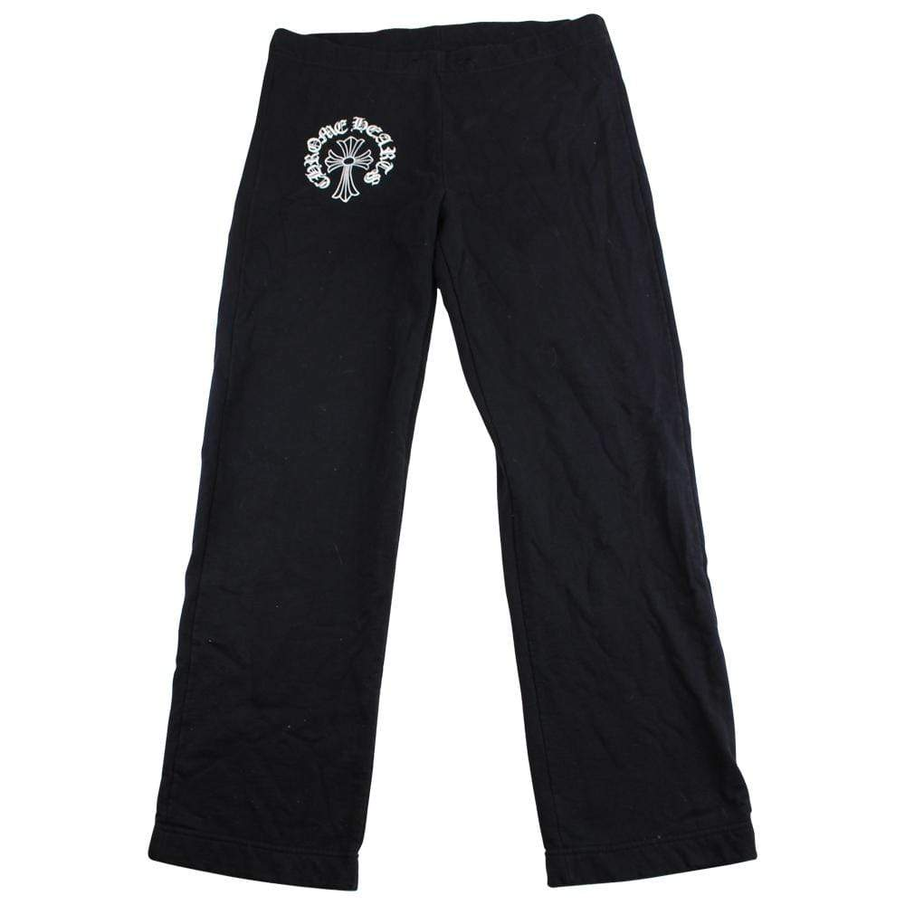 chrome hearts Cross Horse shoe Pants Black  90's - SaruGeneral
