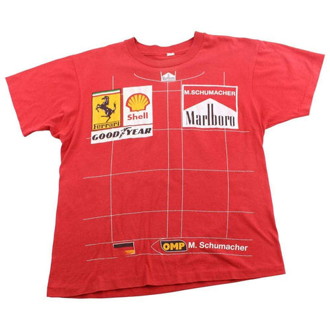 Ferrari x Michael Schumacher Japan Grand Prix Tee Red - SaruGeneral