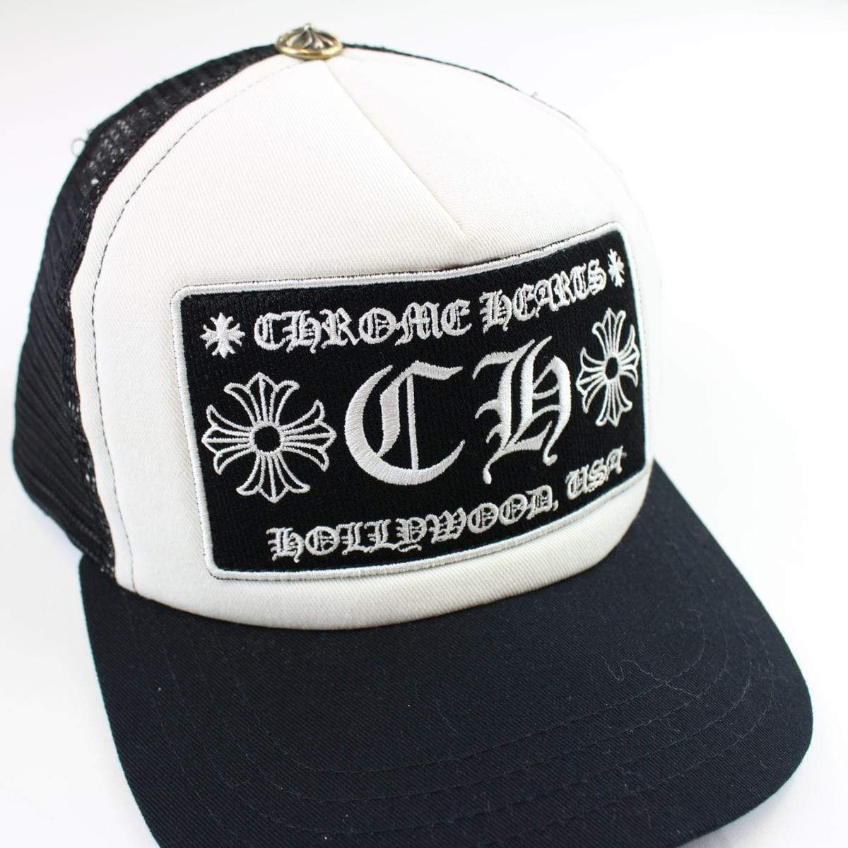 chrome hearts trucker black - SaruGeneral