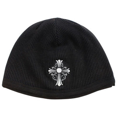 chrome hearts Cross Logo beanie black - SaruGeneral