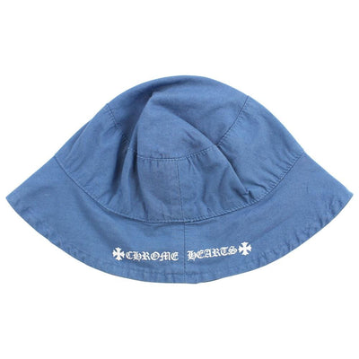 chrome hearts bucket hat blue - SaruGeneral