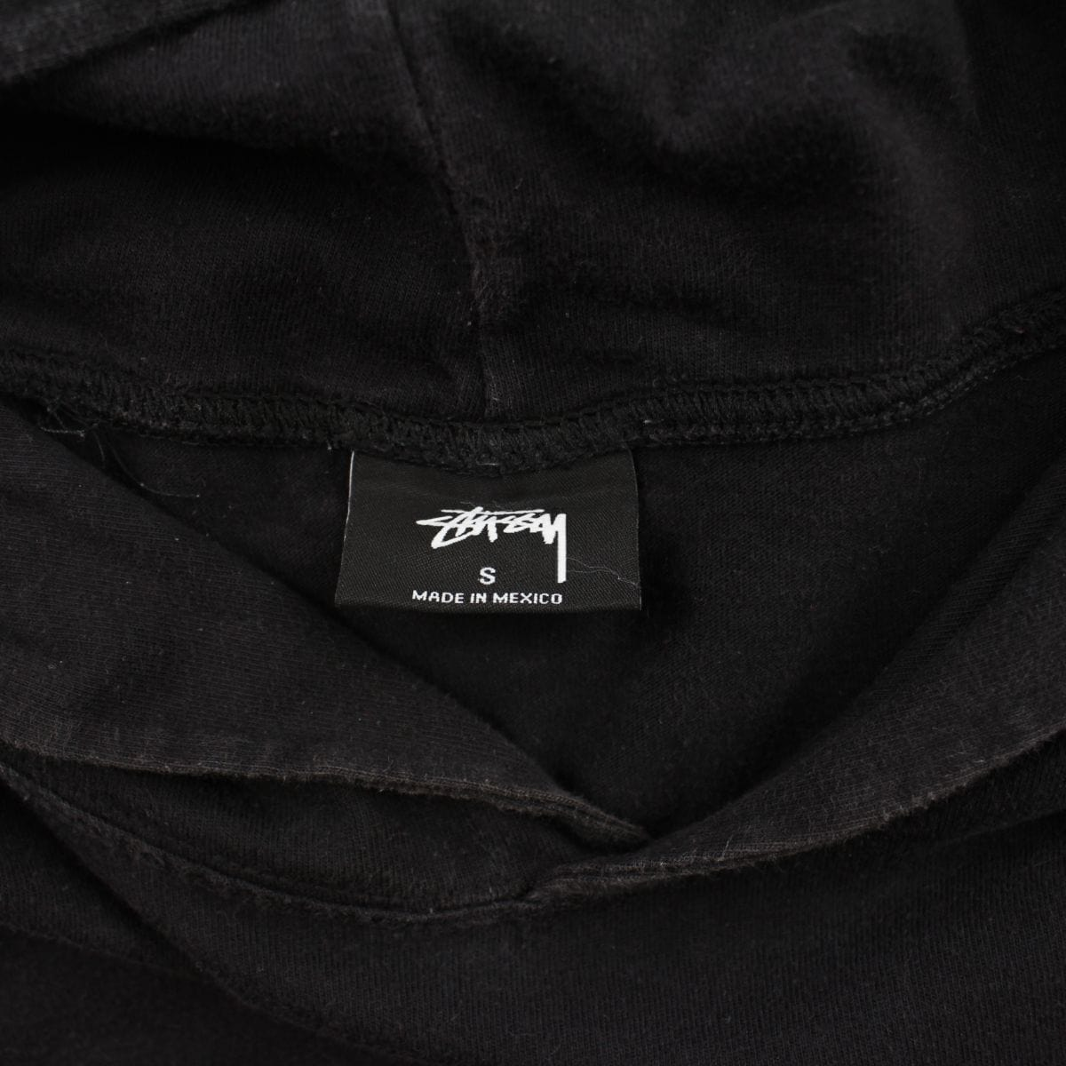 Stussy Crown Centre Logo Hoodie Black