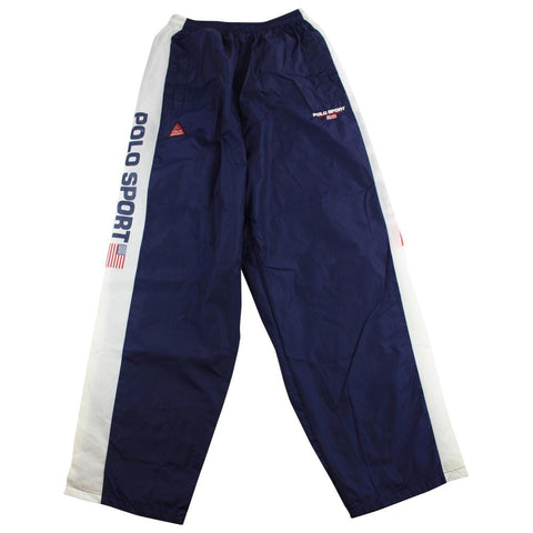 Ralph Lauren Polo Sport Side Logo track pants Navy - SaruGeneral