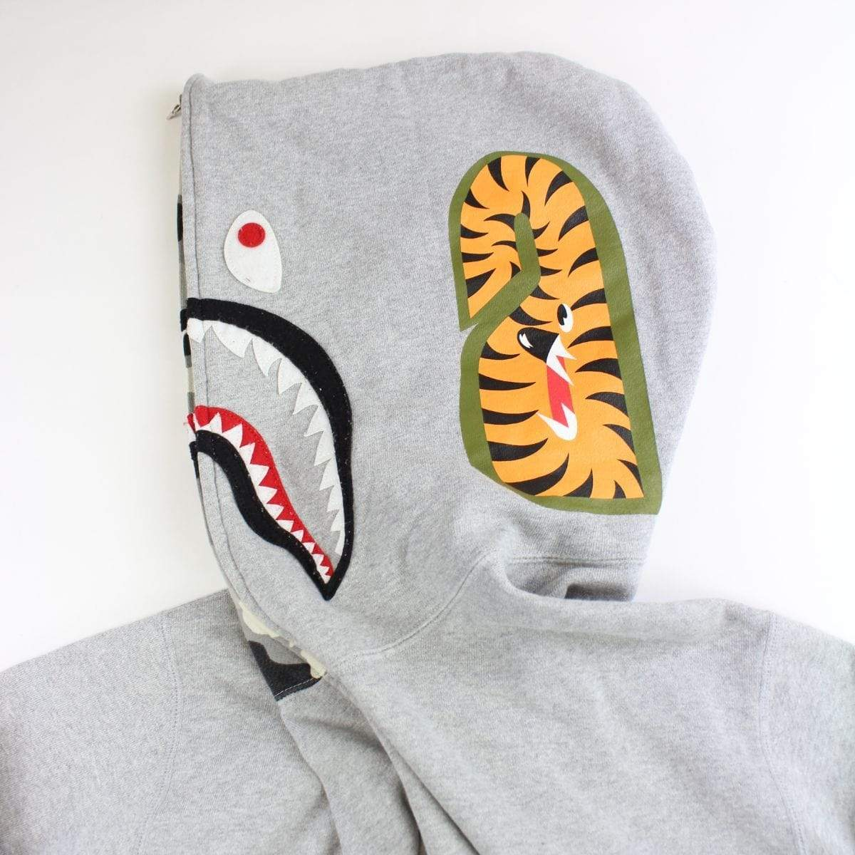 bape grey on grey camo shark - SaruGeneral