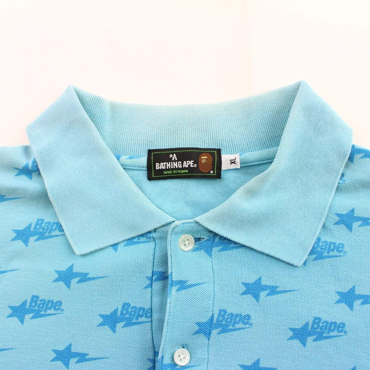bapesta allover polo blue - SaruGeneral