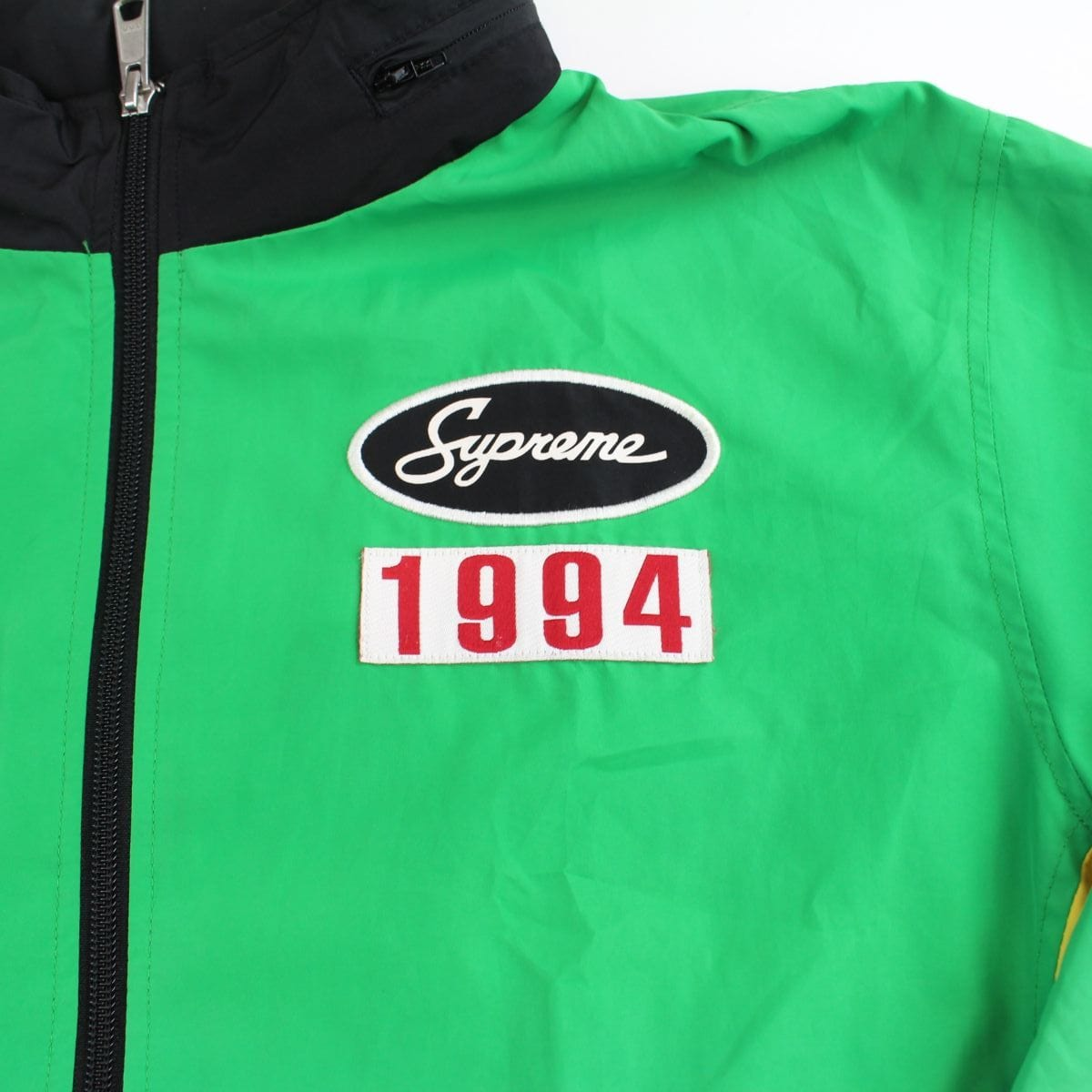 supreme team 94 green yellow track jacket - SaruGeneral