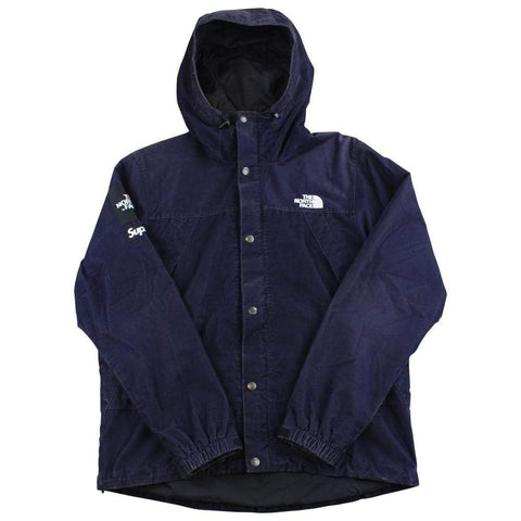 supreme x The North Face navy corduroy jacket 2012 - SaruGeneral