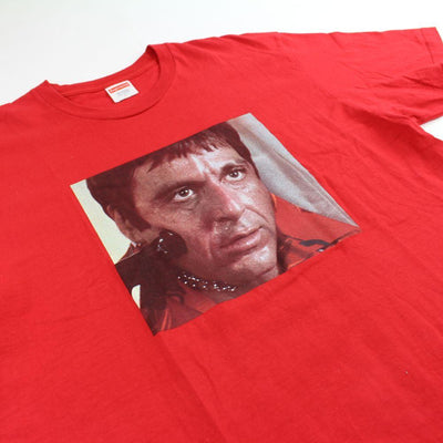 supreme scarface tee red 2017 - SaruGeneral