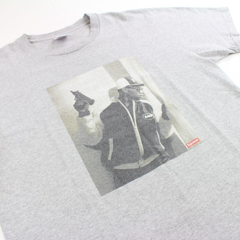 supreme x KRS One tee grey 2014 - SaruGeneral