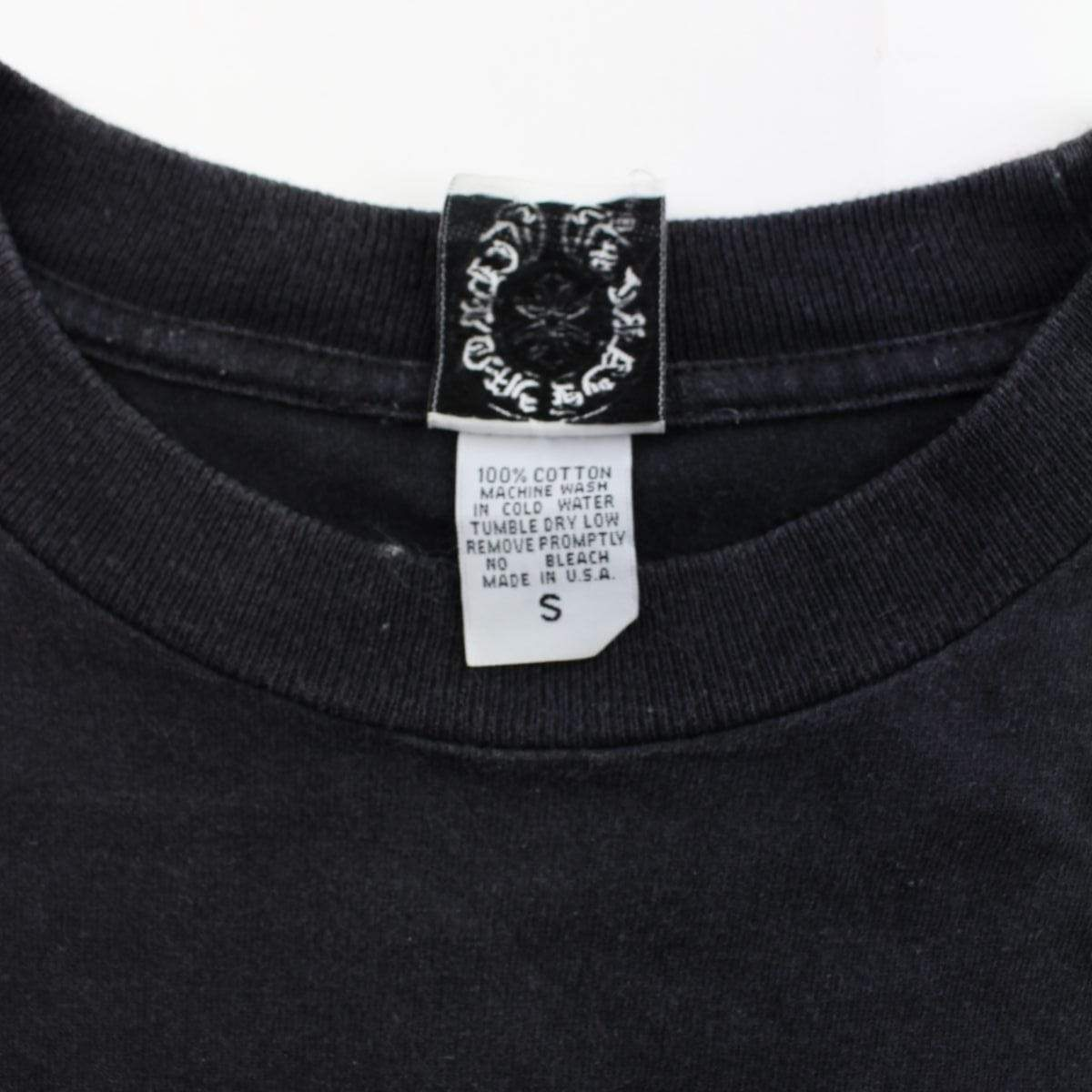 chrome hearts dagger pocket ls black - SaruGeneral