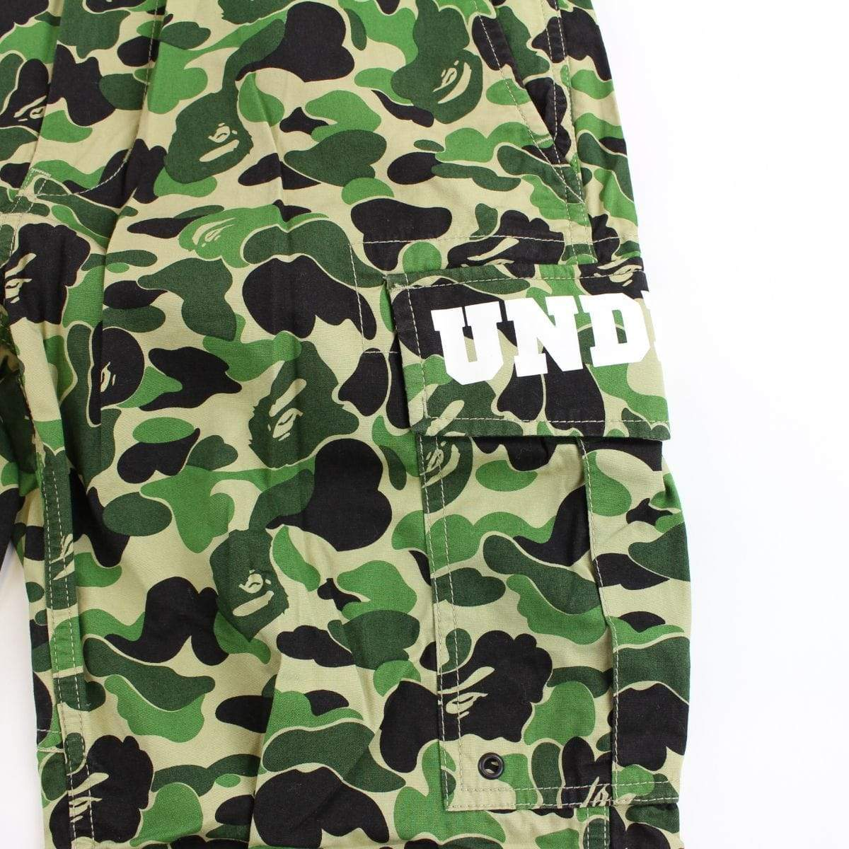 bape x undftd abc green camo pants - SaruGeneral