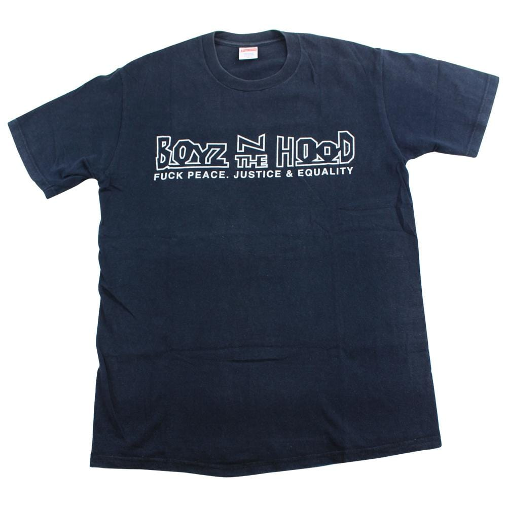 supreme boys in the hood tee black 2003