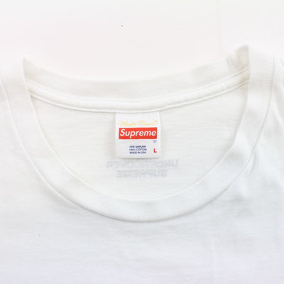 supreme x undercover public enemy tee white - SaruGeneral