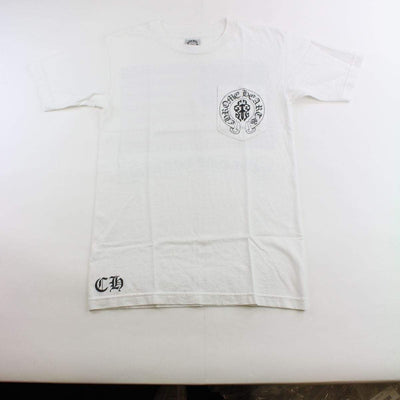 chrome hearts usa logo tee white - SaruGeneral