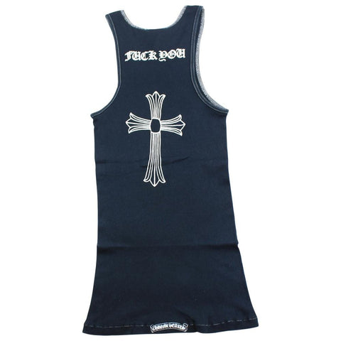 chrome hearts vest black - SaruGeneral